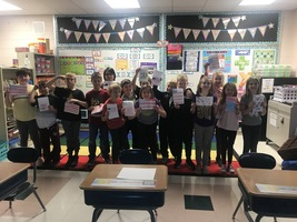 "Battle Lake Third Graders would like to say ""Thank You!"" to all members of the military, active and our veterans."