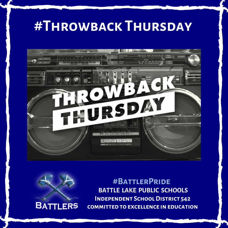 Throwback Thursday - Boombox 10/8/20