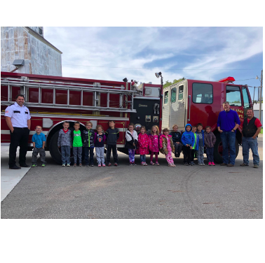 Mrs. Kugler's Class visited the Fire Station