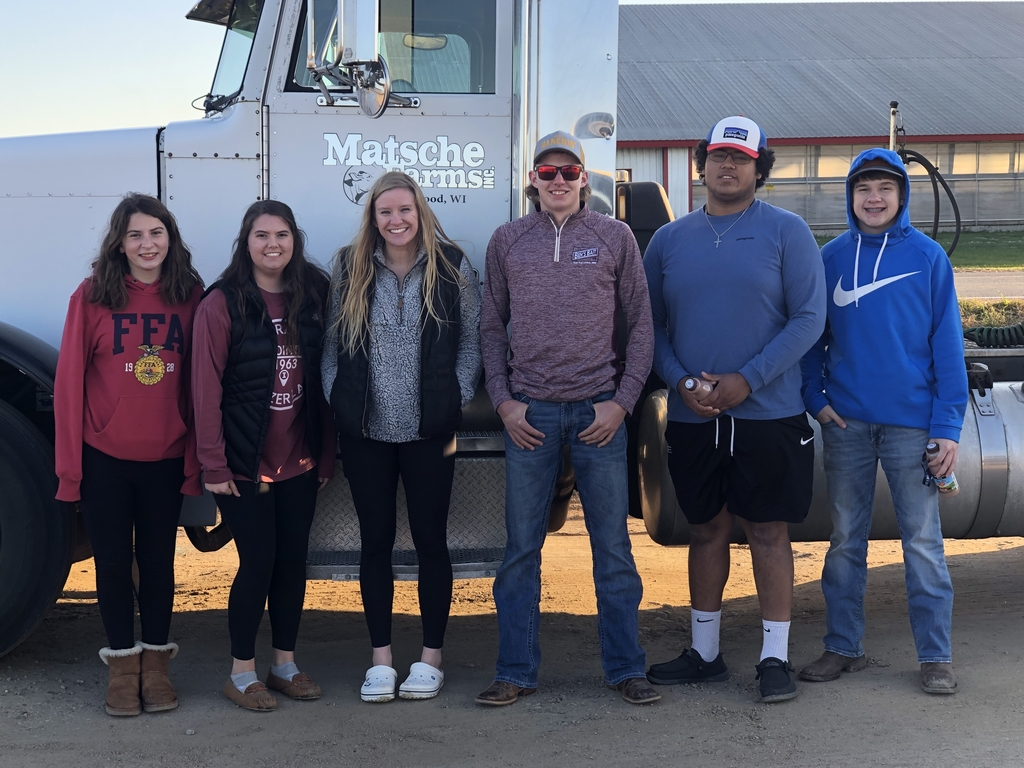 National FFA Convention attendees from Battle Lake FFA- Emmie Lundquist, Kate Johansen, Tessa Kortlever, Riley Leabo, Cian Buehler, and TJ Underhill