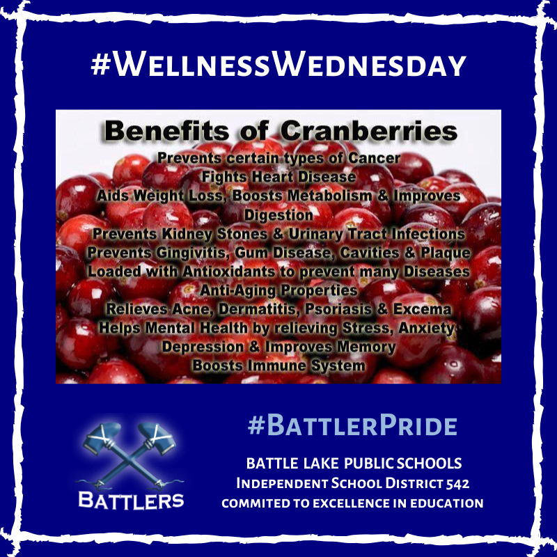 Wellness Wednesday - Cranberries