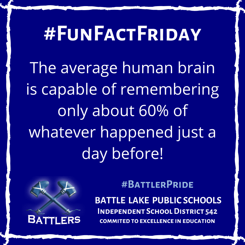 Fun Fact Friday 1/17/20