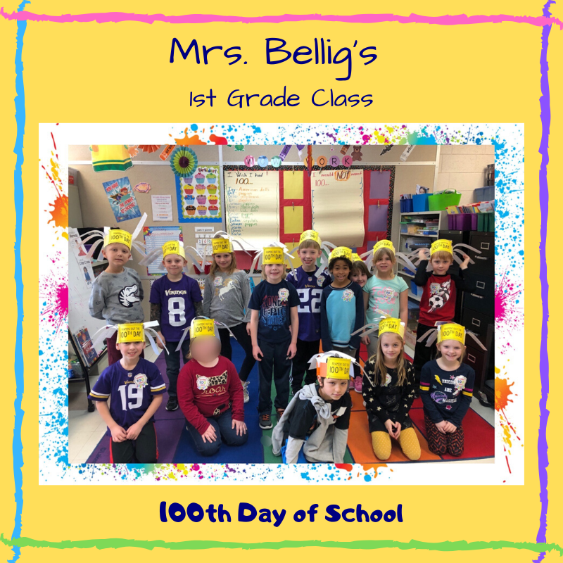 100th Day 2020 - Mrs. Bellig