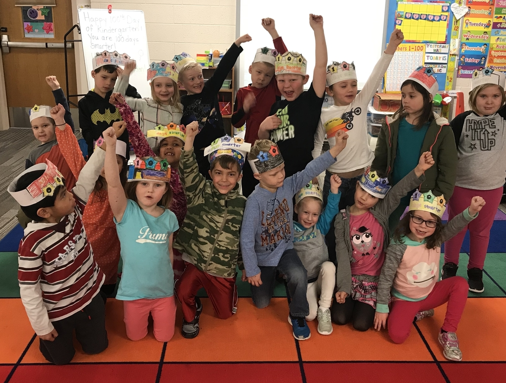 100th day of Kindergarten!