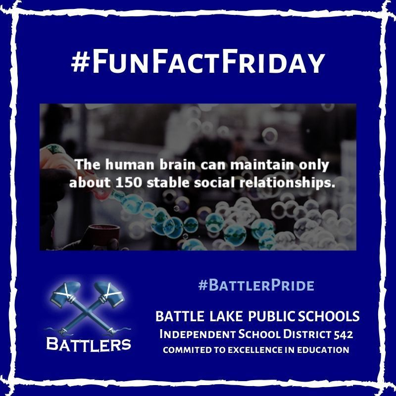 Fun Fact Friday 2/14/20