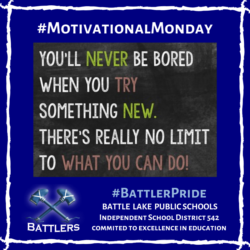 Motivational Monday & Try It Tuesday - 2/18/20