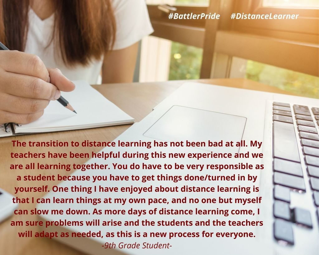 Distance Learner 4/1/20