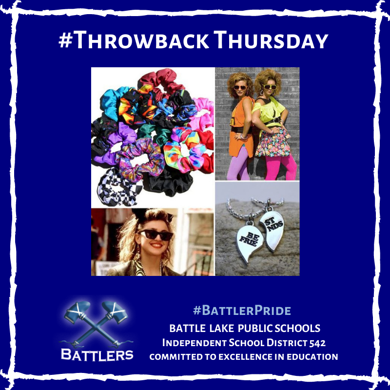 Throwback Thursday - 80s Fashion Trends