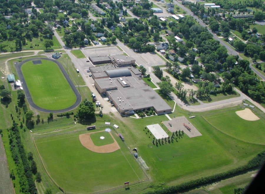 Aerial Photo of Battle Lake School